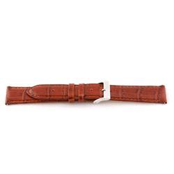 Prawdziwy Skóra Pasek Do Zegarka Koniak Brązowy 12mm Ex-G62