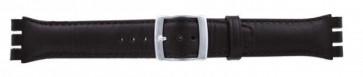 Strap Dla Swatch Ciemny Brązowy Wp-51643-19mm
