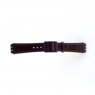 Strap Appropriate To Swatch Brązowy 17mm Pvk-Sc04.02