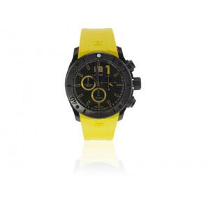 Edox horlogeband 10020 37N NJ2 Rubber Geel