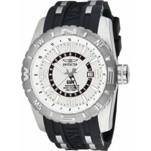 Pasek do zegarka Invicta 10681.01 Gumowy Czarny