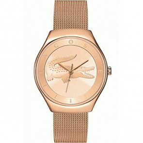 Lacoste horlogeband 2000872 / LC-71-3-34-2538 Staal Rosé 18mm