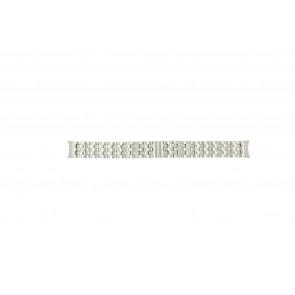 Mondaine horlogeband A629-30341-16 / BM20032 Staal Zilver 16mm