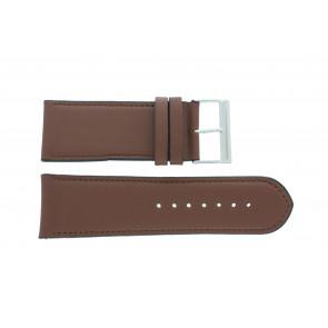 Horlogeband 61215B.23.28 Leder Bruin 28mm + standaard stiksel