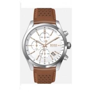 Pasek do zegarka Hugo Boss HB-297-1-14-2955 / 659302763 Skórzany Koniak 22mm