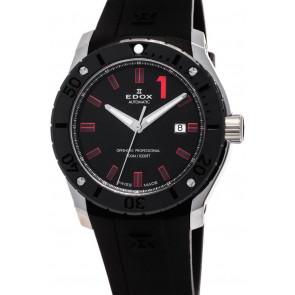Pasek do zegarka Edox 80088 Gumowy Czarny