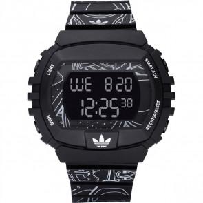 Pasek do zegarka Adidas ADH6096 Plastikowy Czarny