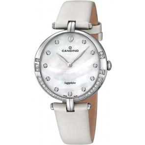 Pasek do zegarka Candino C4601 Skórzany Biały