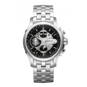 Pasek do zegarka Hamilton H001.32.696.139.01 / H605376100 Stal Stal 22mm
