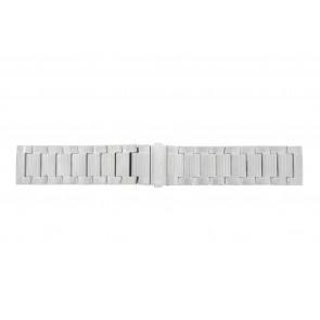 Hugo Boss horlogeband HO1512983 / HB-223-1-14-2630-2399-4/13 Staal Zilver 24mm