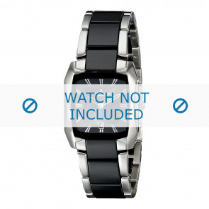 Jacques Lemans horlogeband 1-1754A Keramiek Bi-Color