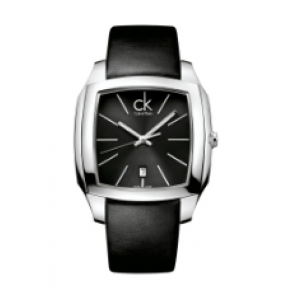 Calvin Klein horlogeband K600.000.094 Leder Zwart 20mm