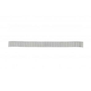 Lasita horlogeband Fixoflex LA-12 Staal Zilver 12mm