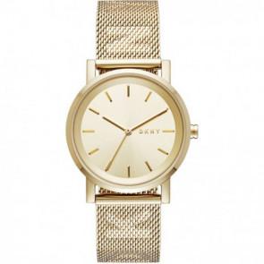 Pasek do zegarka DKNY NY2621 Stal Pozłacany 18mm