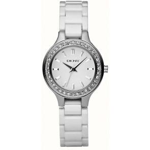 Pasek do zegarka DKNY NY4982 Ceramika Biały