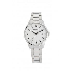 Olympic horlogeband OL26HSS280 Staal Zilver 18mm
