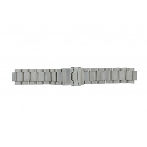 Q&Q horlogeband QQ13ST-ZI-ST Staal Zilver 13mm