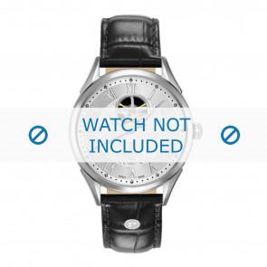 Roamer horlogeband 550661-41-22-05 Leder Zwart 18mm + standaard stiksel
