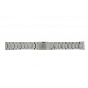 Other brand horlogeband ST20Z Staal Zilver 20mm