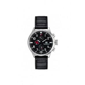 Pasek do zegarka Tommy Hilfiger TH-102-1-14-0878 Skórzany Czarny 20mm