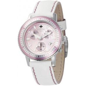 Pasek do zegarka Zodiac ZO2810 Skórzany Biały
