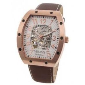 Vendoux Zegarek Automatyczny Różowy Lr 12912-02