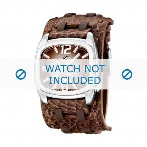 Calypso horlogeband K5224/2 Leder Bruin 26mm