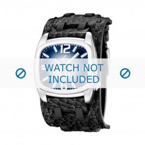 Calypso horlogeband K5224/3 Leder Zwart 26mm