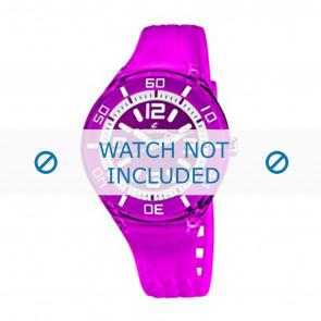 Calypso horlogeband K5588/6  Rubber Paars