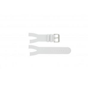 Davis Pasek Do Zegarka 1401 Skóra Biały 30mm