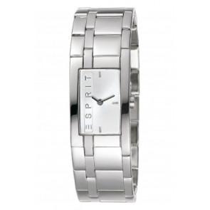 Esprit horlogeband ES 000 M 02016 / ES000M020  Staal Staal / RVS 20mm