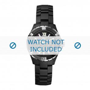 Guess horlogeband X69002L2S / X69004L2S Keramiek Zwart
