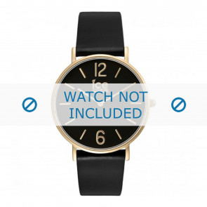 Ice Watch horlogeband CT.BGD.36.L.16 Leder Zwart 18mm