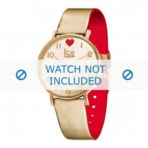 Ice Watch horlogeband 013376 Leder Goud 18mm