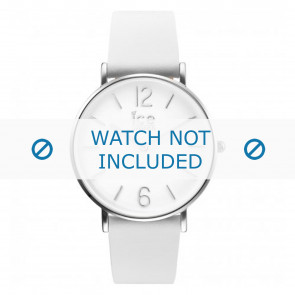 Ice Watch horlogeband CT.WSR.36.L.16 Leder Wit 18mm