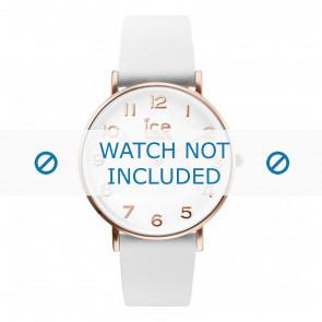 Ice Watch horlogeband CT.WRG.36.L.16 Leder Wit 18mm
