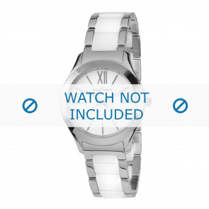 Jacques Lemans horlogeband 1-1796B Keramiek Bi-Color