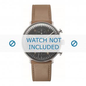 Junghans horlogeband 027/4501.01 Leder Bruin 20mm + standaard stiksel