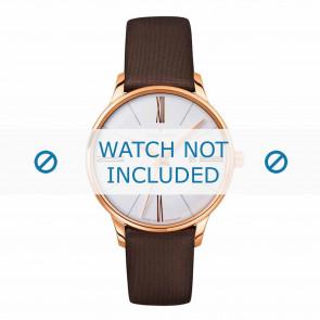 Junghans horlogeband 047/7571.00 Leder Bruin 14mm
