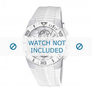 Lotus horlogeband 15778.1 Rubber Wit 26mm