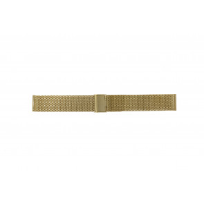 Other brand horlogeband MESH20DBL Staal Goud 20mm