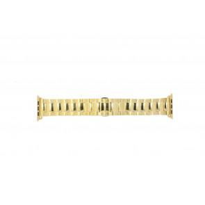 Apple (Wymiana Model) Pasek Do Zegarka Ls.Ab.106 Stal Złoty (Doublé) 42mm