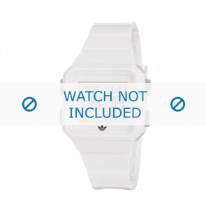 Adidas Pasek Do Zegarka Adh4056 Guma Biały 20mm