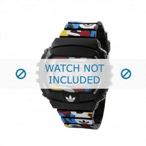 Adidas Pasek Do Zegarka Adh6080 Plastic Czarny 26mm