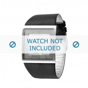 Police horlogeband PL-11916MS-04 Leder Zwart