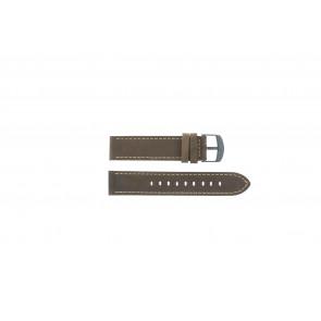 Timex Pasek Do Zegarka T49905 Skóra Brązowy 20mm