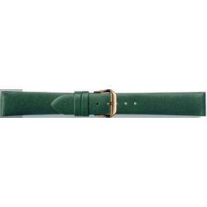 Prawdziwy Skóra Pasek Do Zegarka Zielony 14mm Pvk-241