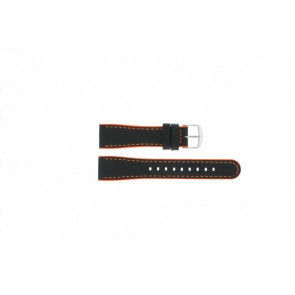 Timex Pasek Do Zegarka T2N428 Skóra Czarny 22mm