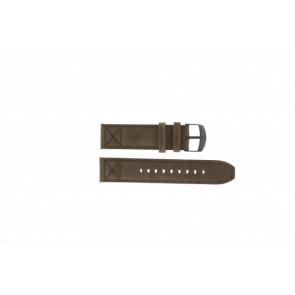 Timex Pasek Do Zegarka T49986 Skóra Brązowy 22mm