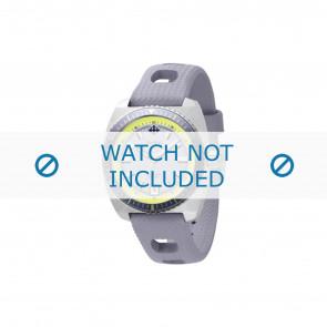 Zodiac horlogeband ZO2262 Rubber Grijs